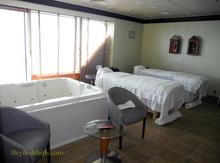 Norwegian Dawn spa
