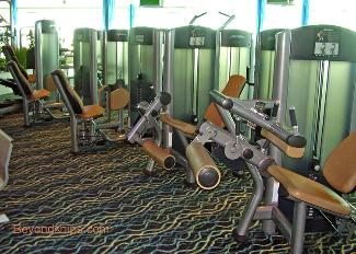 fitness center cruise ship Independence of the Seas
