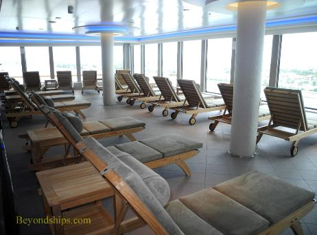 Norwegian Getaway, thermal suite