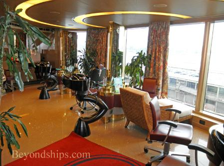 Holland America cruise ship Eurodam salon