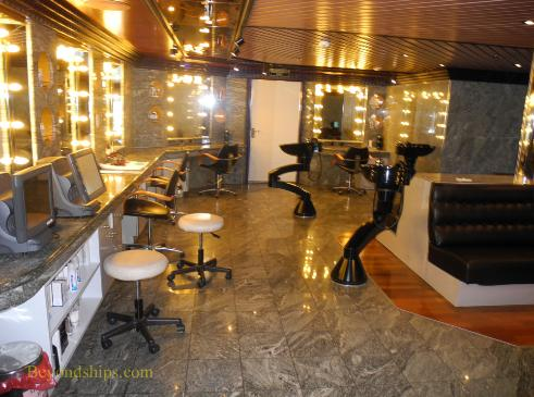 Carnival Liberty salon