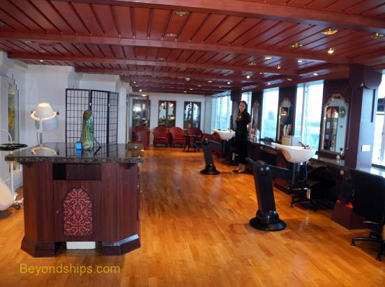Coral Princess Salon