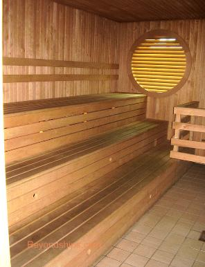 cruise ship Independence of the Seas sauna