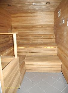 Norwegian Breakaway cruise ship, spa sauna