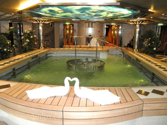 Holland America cruise ship Eurodam spa