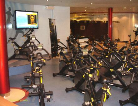 Oasis of the Seas fitness center