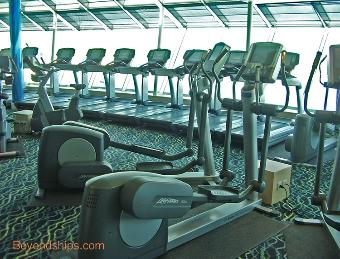 cruise ship Independence of the Seas fitness center