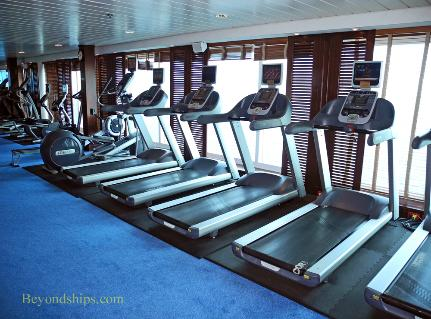 Cruise ship Ocean Princess fitness center