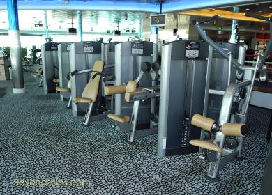 Liberty of the Seas fitness center