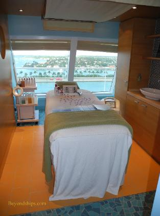 Carnival Breeze cruise ship spa