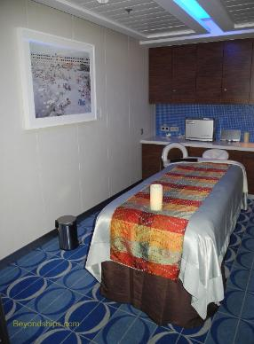 Celebrity Equinox cruise ship spa