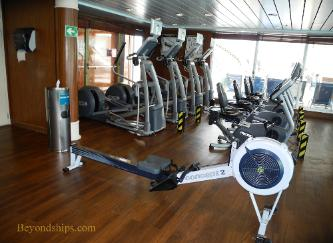 Norwegian Sun cruise ship spa
