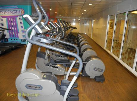 Norwegian Getaway, fitness center