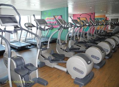 Norwegian Breakaway cruise ship, fitness center