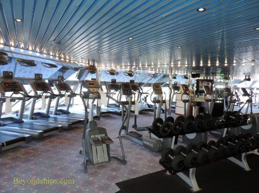 Carnival Freedom cruise ship gym