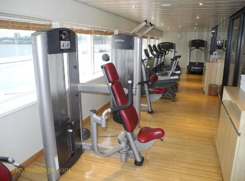Amadea cruise ship, kruezschiffe, fitness center