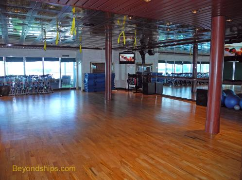 Coral Princess fitness center