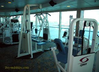 Cruise ship Legend of the Seas, fitness center