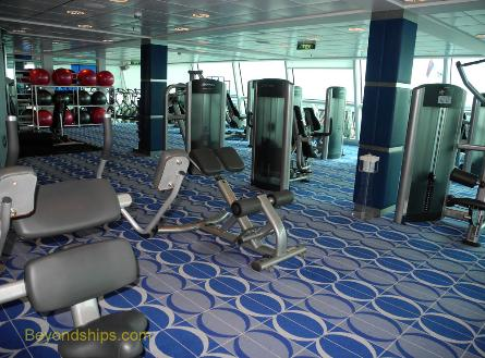 Celebrity Equinox fitness center