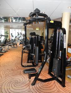 cruise ship photo Cunard's Queen Victoria -  fitness centre machine