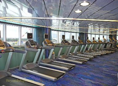 fitness center Holland America cruise ship Eurodam