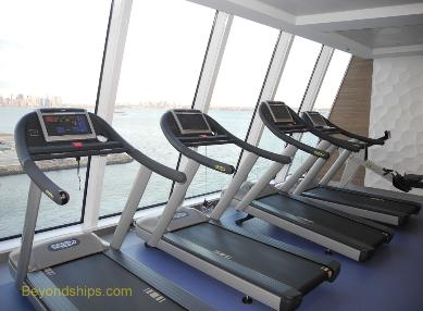 Quantum of the Seas fitness center