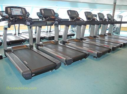 Carnival Breeze cruise ship gym