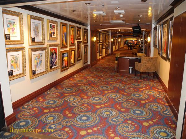 Cruise ship Carnival Paradise art gallery