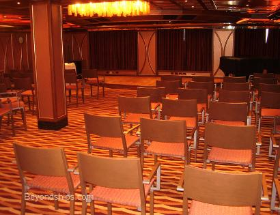 conference room Carnival Splendor cruise ship