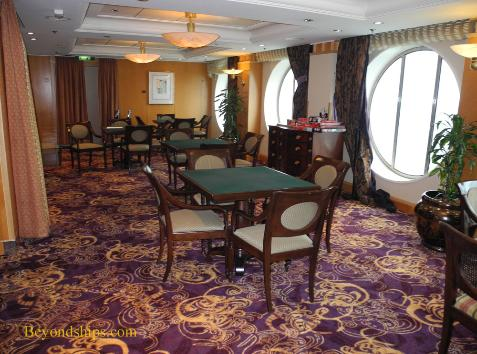 cruise ship Brilliance of the Seas card room
