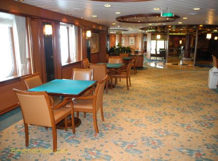 Coral Princess card room