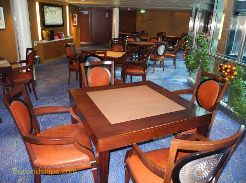 Celebrity Equinox card room