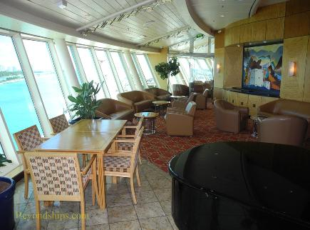 Cruise ship Adventure of the Seas interior
