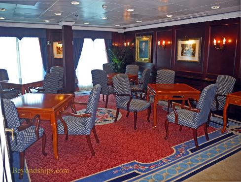 Ocean Princess cruise ship card room