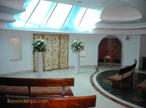 Liberty of the Seas wedding chapel