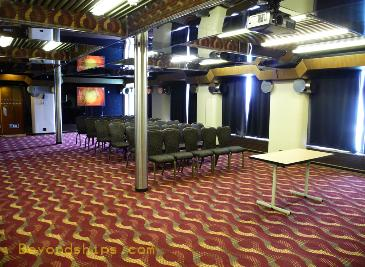 Carnival Ecstasy conference center