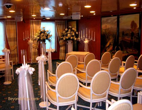 Ruby Princess, wedding chapel