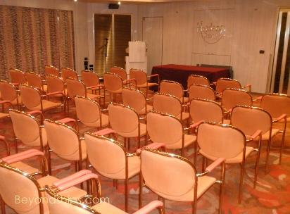 Cruise ship Westerdam conference rooms