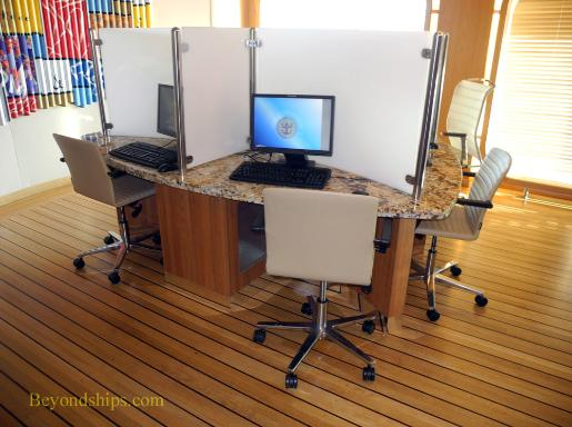 Legend of the Seas, cruise ship, internet cafe