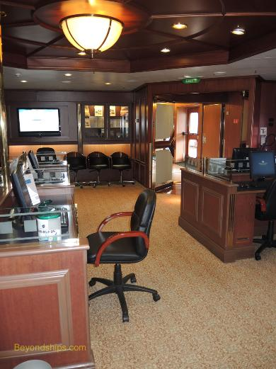 Cruise ship Sea Princess, Internet Cafe