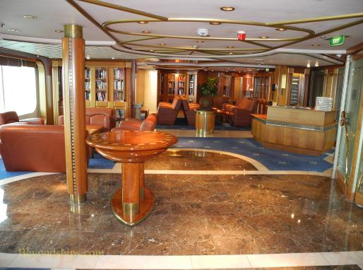 Vision of the Seas, library