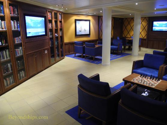 Carnival Breeze cruise ship library