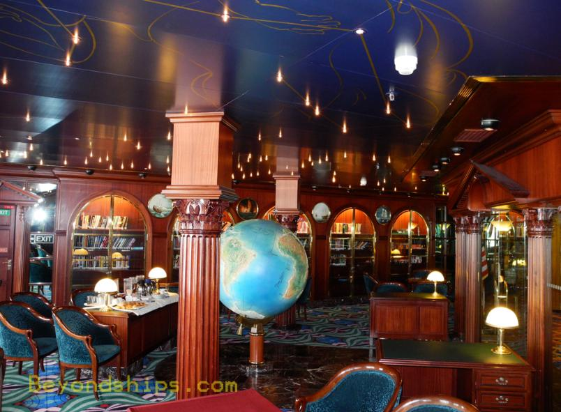 cruise ship Carnival Ecstasy library