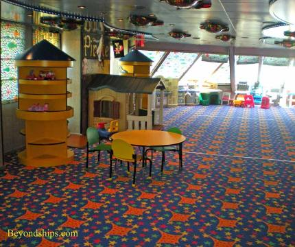 Carnival Liberty children's facilities