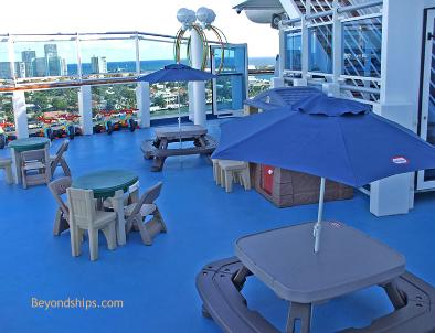 Ruby Princess, children's facilities