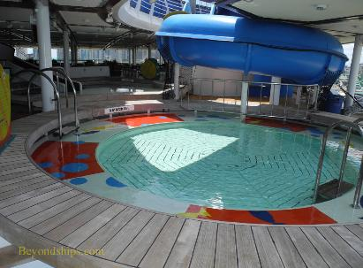 Cruise ship Adventure of the Seas children's facilities