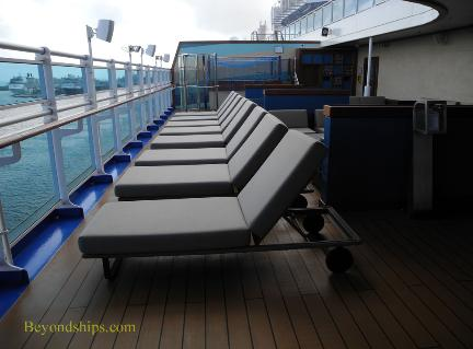 teen area, Regal Princess cruise ship
