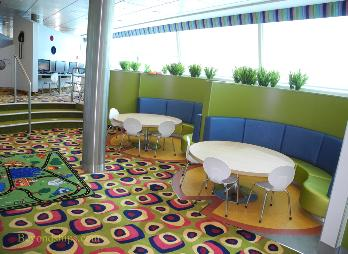 Celebrity Reflection cruise ship children's area