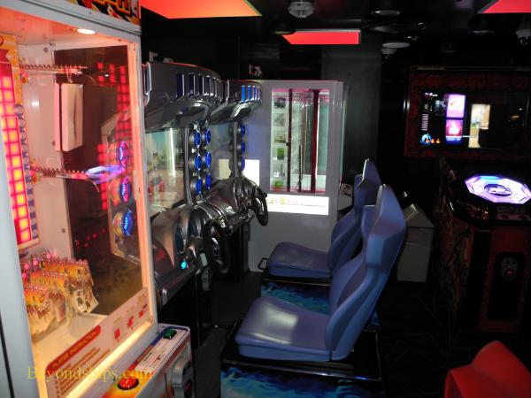 Legend of the Seas, cruise ship, video arcade