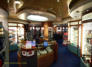 Legend of the Seas, cruise ship, shops